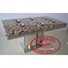 不锈钢火锅桌HGZ-B12