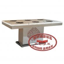 不锈钢火锅桌HGZ-B13