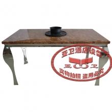 不锈钢火锅桌HGZ-B4