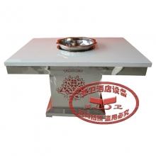 不锈钢火锅桌HGZ-B11
