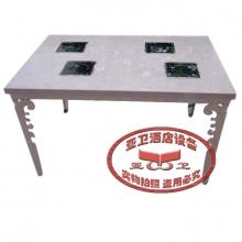 不锈钢火锅桌HGZ-B27