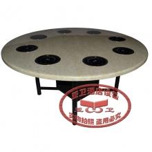 铁脚火锅桌HGZ-T7