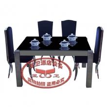 导磁玻璃火锅桌HGZ-D2