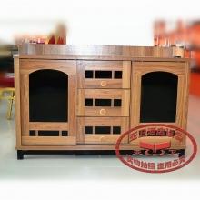 实木酒水柜JSG01