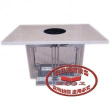 不锈钢火锅桌HGZ-B49