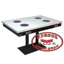 铁脚火锅桌HGZ-T10