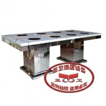不锈钢火锅桌HGZ-B33