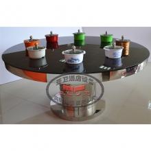 导磁玻璃火锅桌HGZ-D7