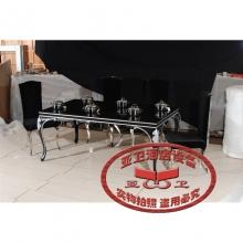 导磁玻璃火锅桌HGZ-D8