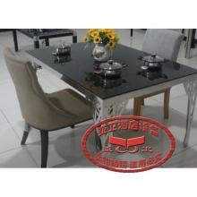 导磁玻璃火锅桌HGZ-D10