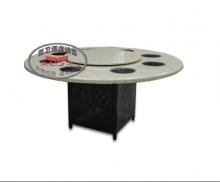 铁脚火锅桌HGZ-T14