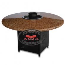 铁脚火锅桌HGZ-T13