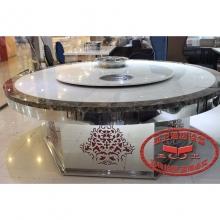导磁玻璃火锅桌21