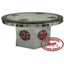 导磁玻璃火锅桌20