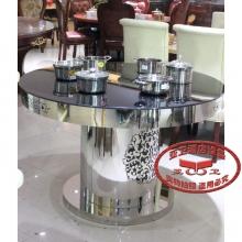 导磁玻璃火锅桌13