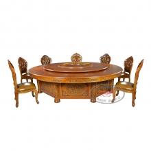 豪华电动餐桌HHCZ-DD26(双龙戏珠)