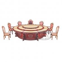 豪华电动餐桌HHCZ-DD24