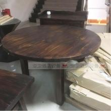 碳烧烤木餐桌椅系列-TSMCY05
