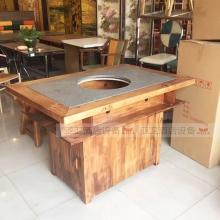 碳烧烤木餐桌椅系列-TSMCY14