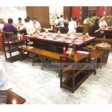 碳烧烤木餐桌椅系列-TSMCY04