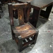 碳烧烤木餐桌椅系列-TSMCY07