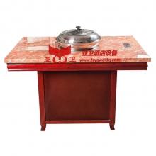 新款蒸汽火锅桌04