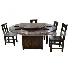 碳烧烤木餐桌椅系列-TSMCY31