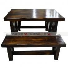 碳烧烤木餐桌椅系列-TSMCY27
