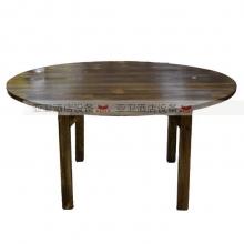 碳烧烤木餐桌椅系列-TSMCY30