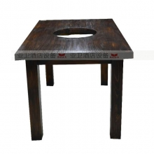 碳烧烤木餐桌椅系列-TSMCY26