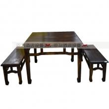 碳烧烤木餐桌椅系列-TSMCY32