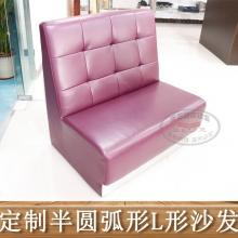 新款单卡餐厅沙发-11
