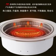亚卫400下排烟电烤炉