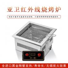 亚卫红外线电烧烤炉上排烟